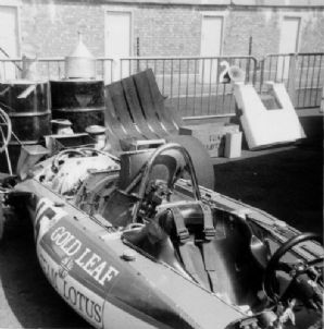 Lotus 56B Turbine 4wd paddock 1971 Dutch GP